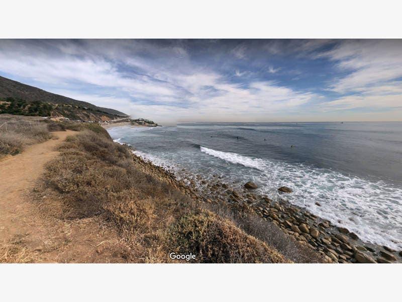 Dead Grey Whale Washes Ashore In Malibu