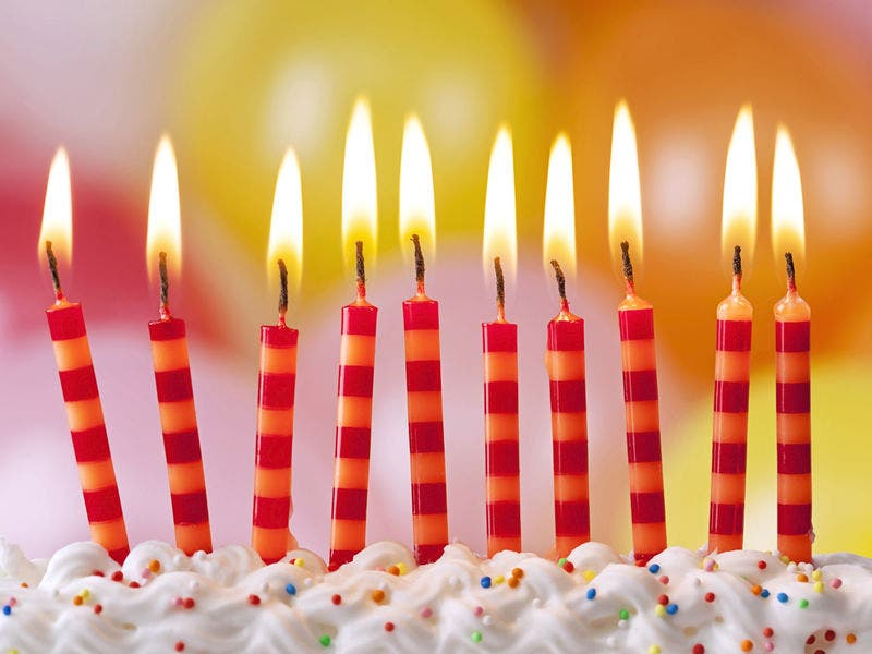 Bacteria Flavored Birthday Cake Study Shows Blowing Out Candles