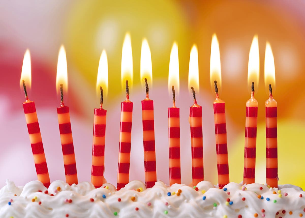 Awe Inspiring Bacteria Flavored Birthday Cake Study Shows Blowing Out Candles Funny Birthday Cards Online Aeocydamsfinfo