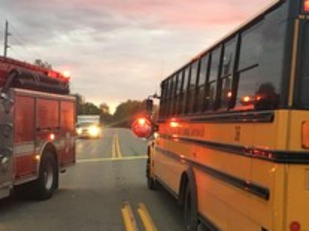Children Identified In Indiana Bus Stop Crash, Woman
