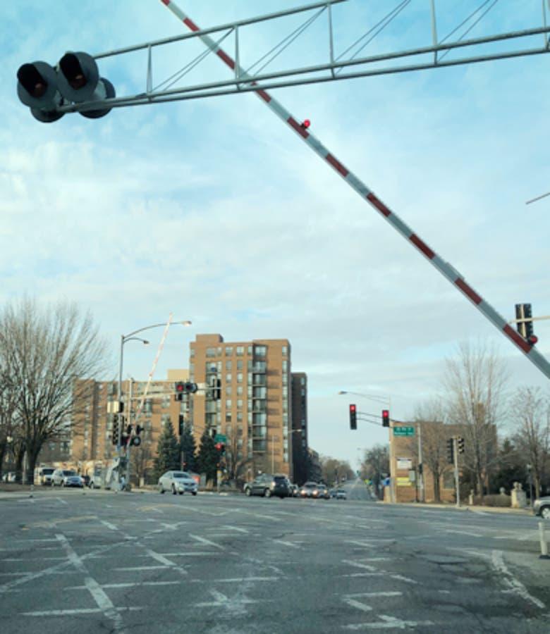 Railroad Crossing Closing For Repairs At Arlington Heights