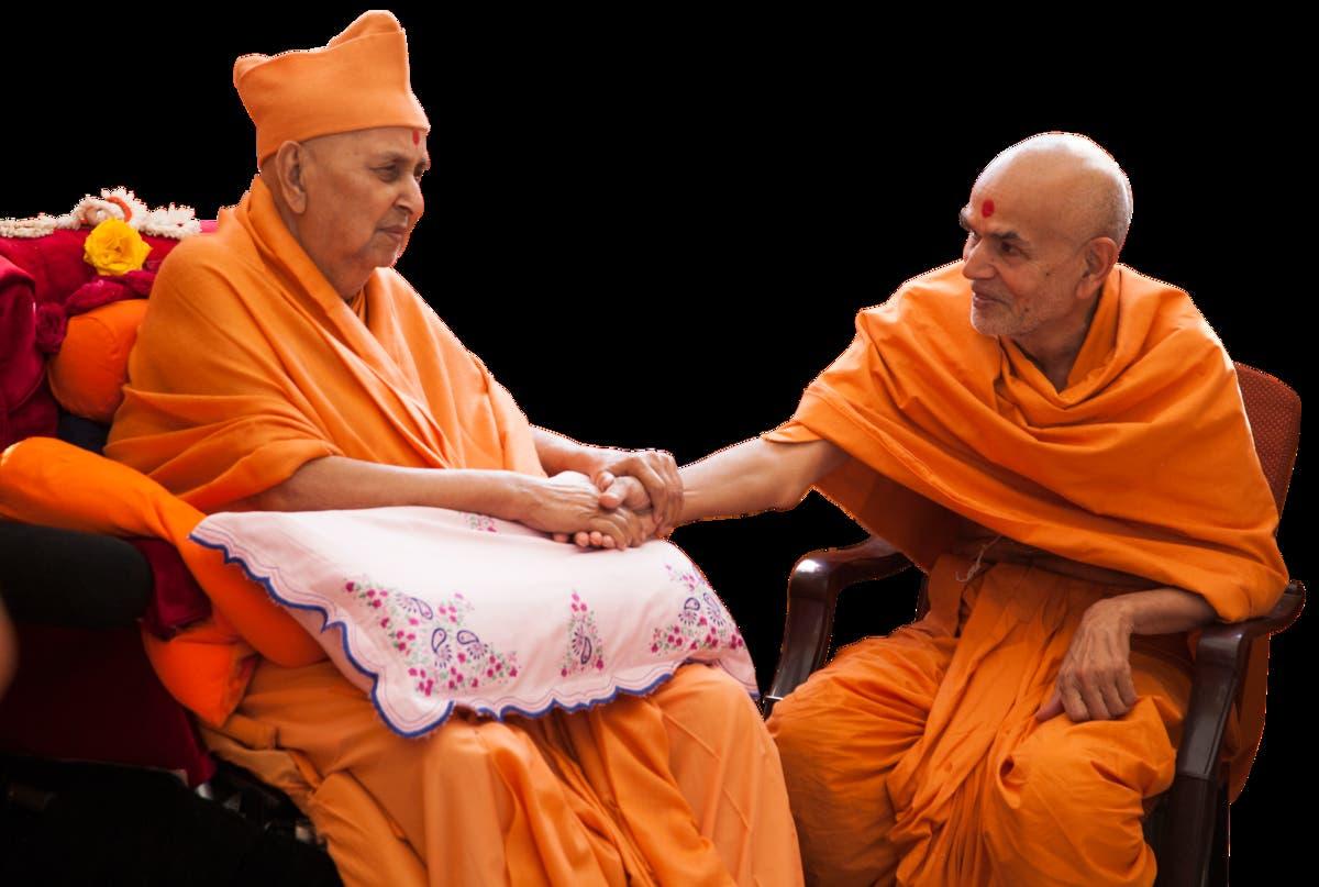 Happy New Year Mahant Swami 23