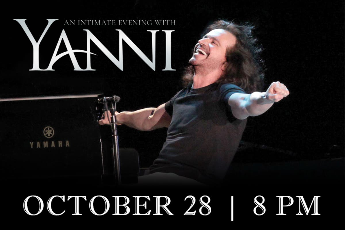 Yanni's Sold Out Rialto Concert Considered Rousing Success