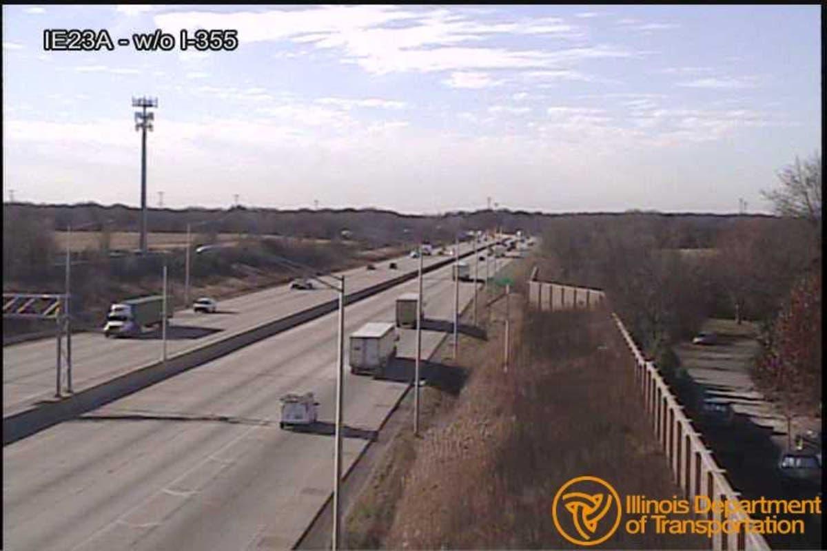 I-80 west joliet traffic