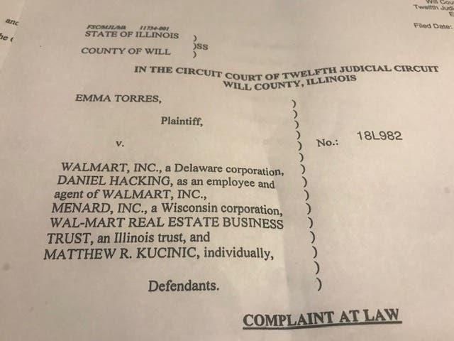 walmart worker s parking lot mugging prompts lawsuit joliet il patch