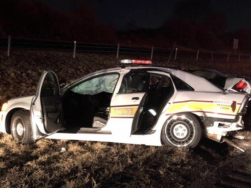 State Trooper Hurt When I-80 Drunk Driver Strikes Squad: Cops