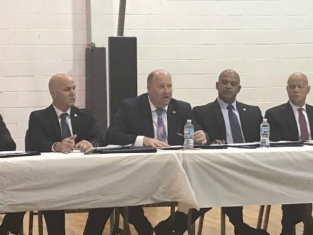 Bruce Carter Forum Goes Well For Joliet Police, City Leaders