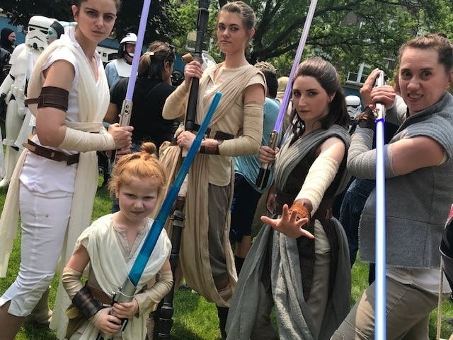 12 Amazing Photos: Joliets 10th Annual Star Wars Day