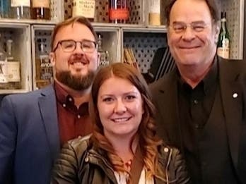 Dan Aykroyd Meets With Old Joliet Prison Staff For Q & A