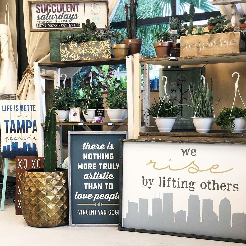 Oct 13  DIY Home Decor Workshop  Tampa, FL Patch