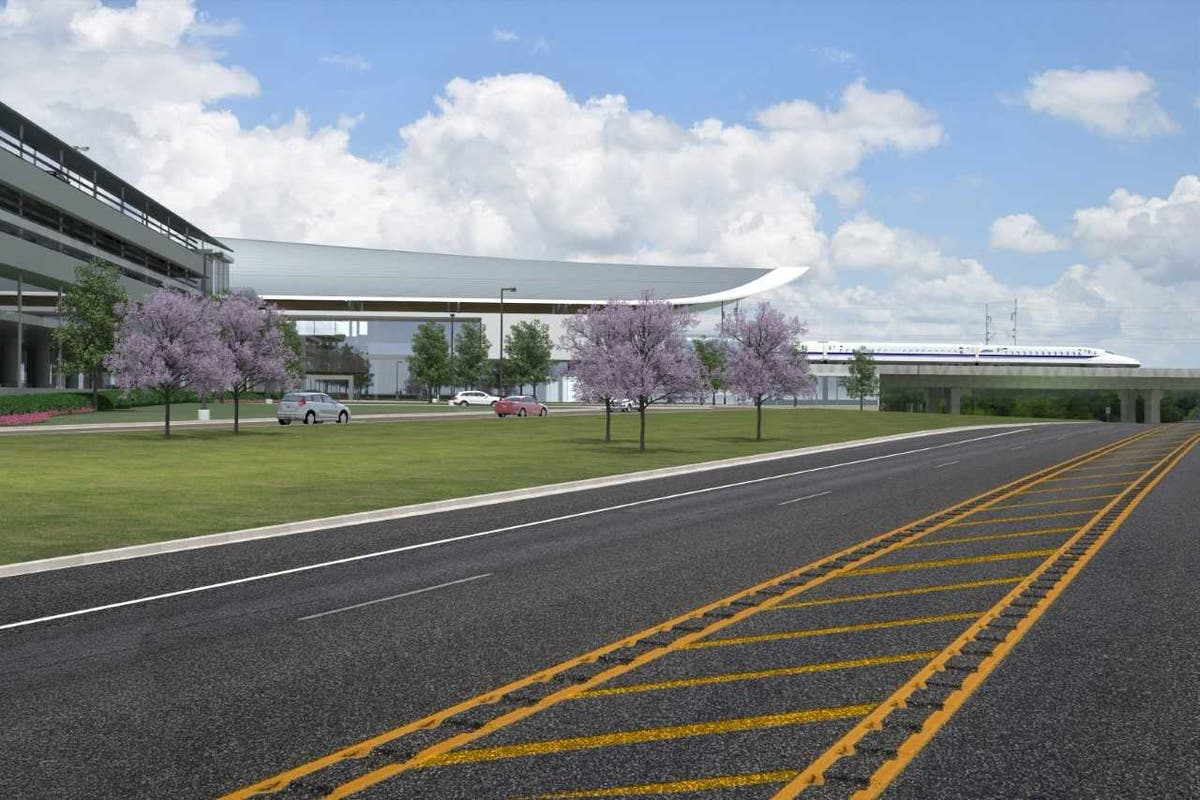Dallas-to-Houston High Speed Rail Unveils Brazos Valley