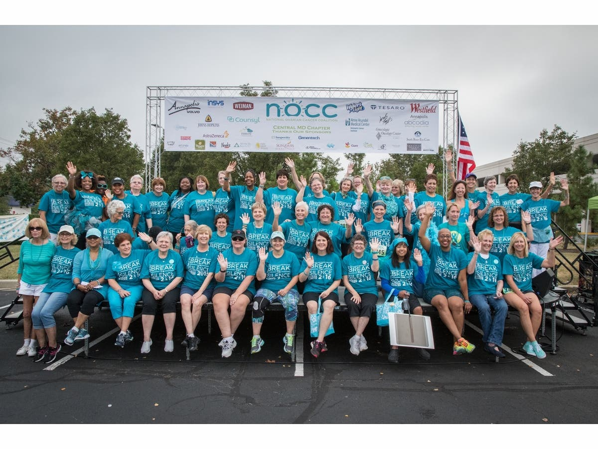 5krun 3k Walk To Break The Silence On Ovarian Cancer Annapolis Md Patch
