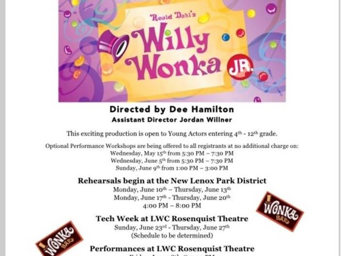 Lincoln-Way Theatre Guild Presents Summer Theatre Camp