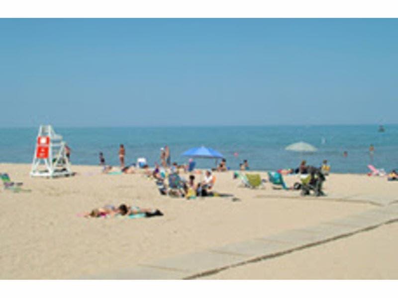 2 of Evanston's 5 Beaches Close For Swimming | Evanston, IL