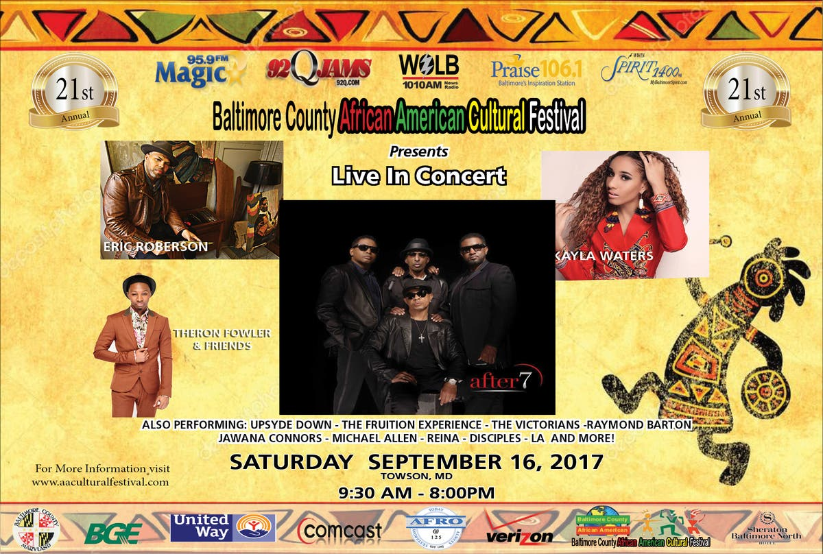 African American Cultural Festival In Towson To Celebrate