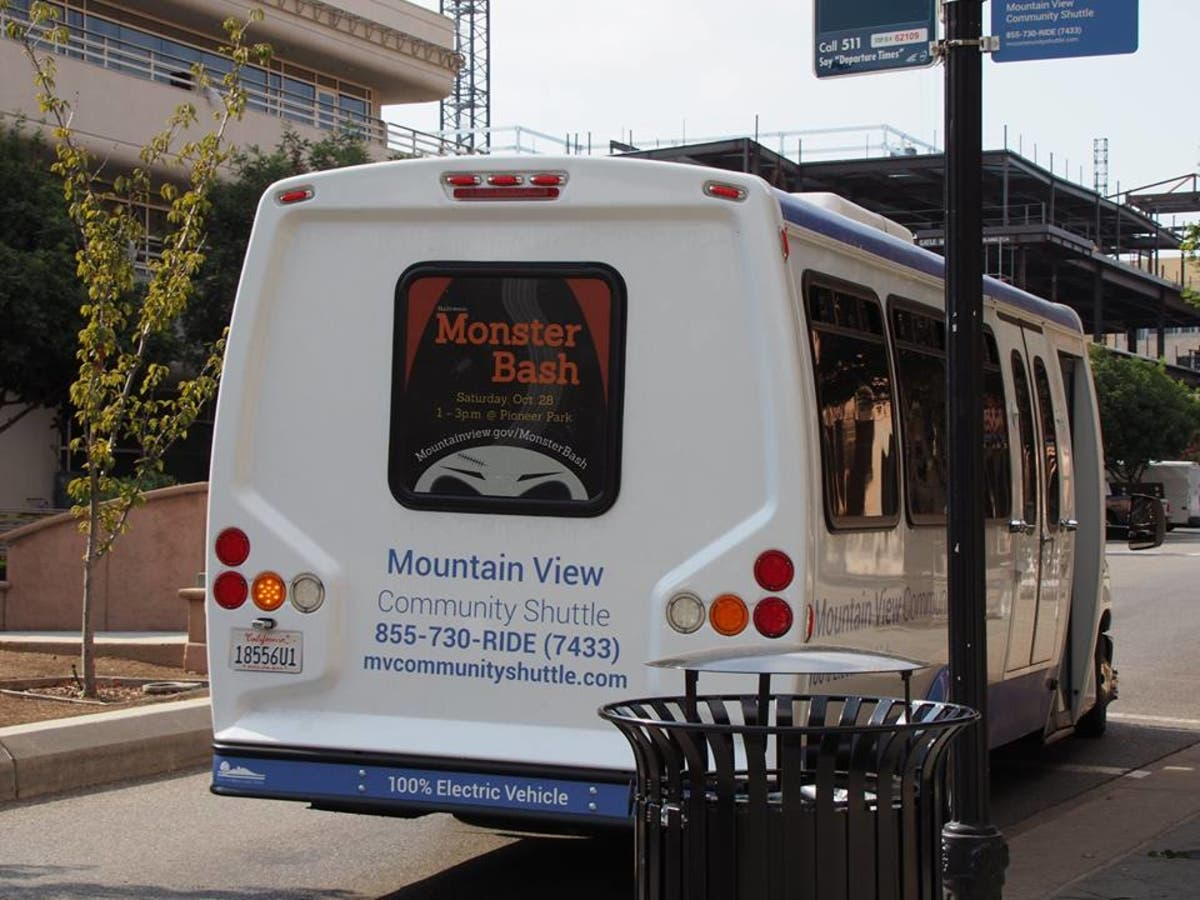 Mountain View S Google Funded Community Shuttle Renewed For