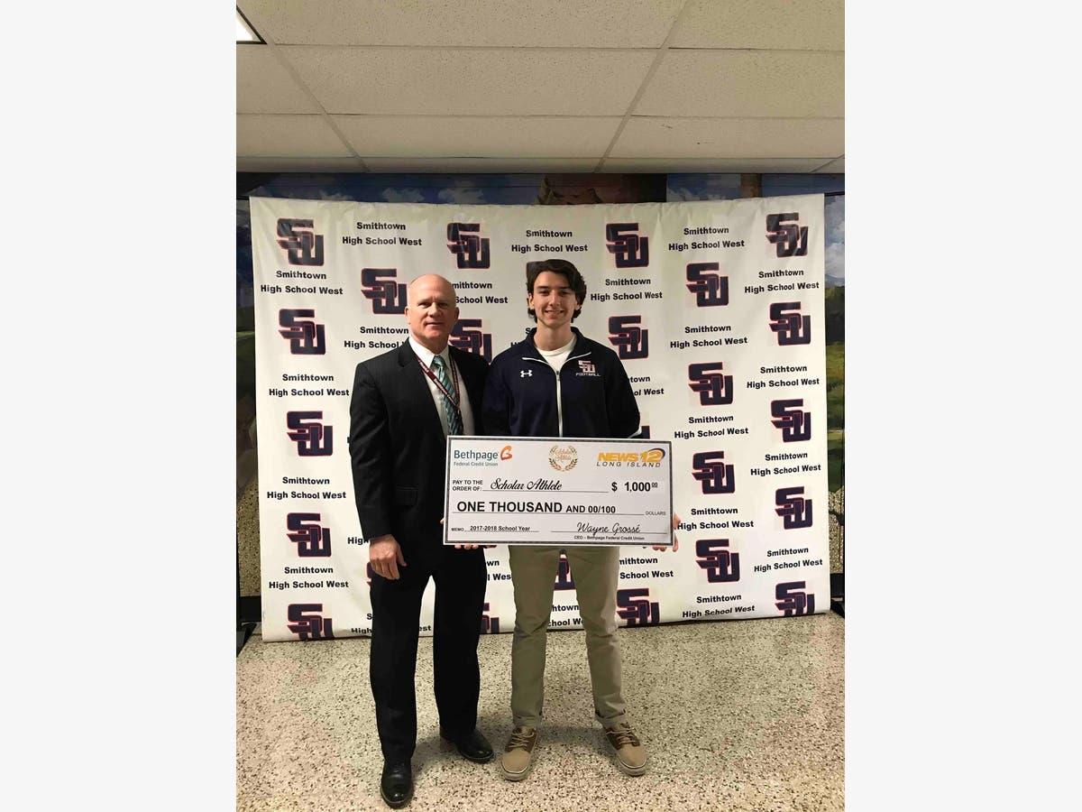 Smithtown High School Scholar-Athlete Recognized   Smithtown