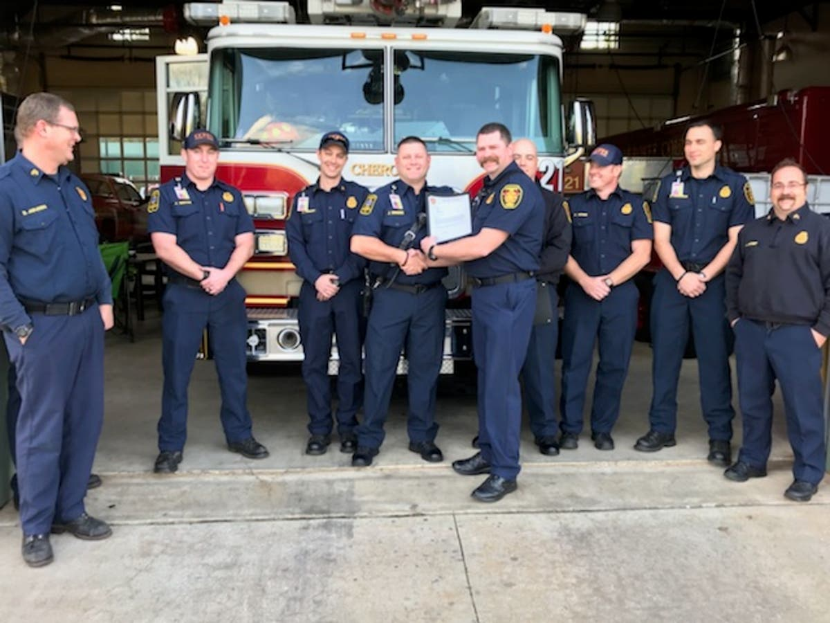 Cherokee Firefighters Receive Letters of Commendation | Canton, GA Patch