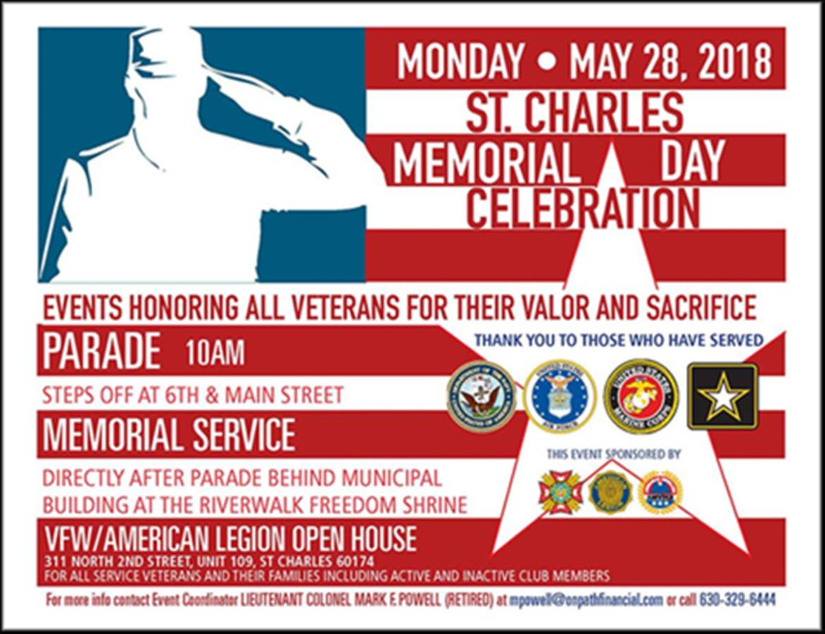 St Charles Plans Memorial Day Activities St Charles Il Patch