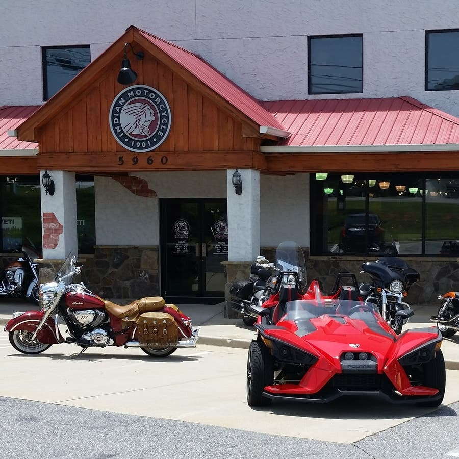atlanta highway indian motorcycle celebrates 3rd birthday