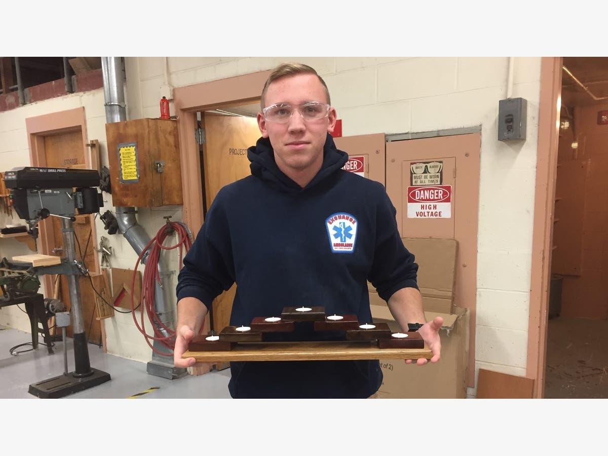 Islip Senior Demonstrates Woodworking Skills Islip Ny Patch