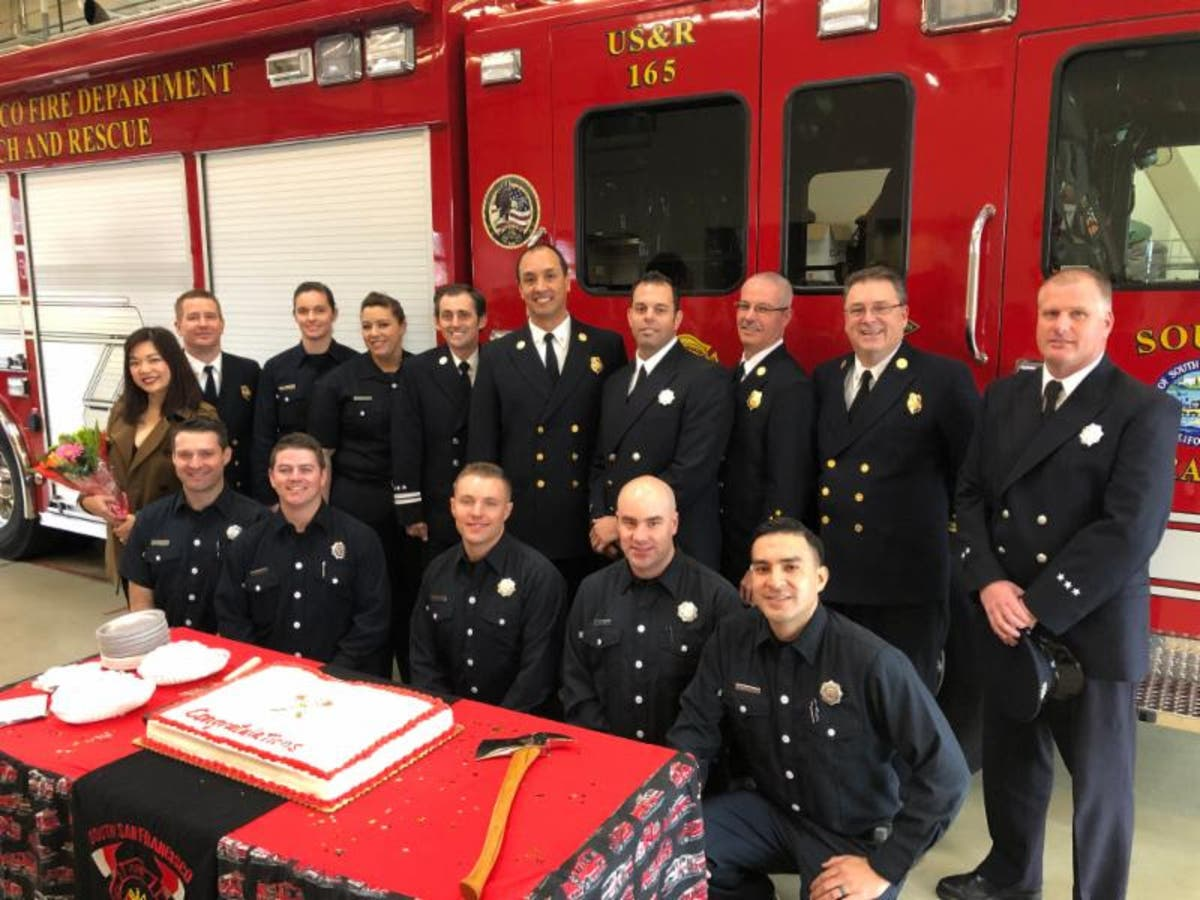 South San Francisco Fire Department Welcomes 7, Promotes 7