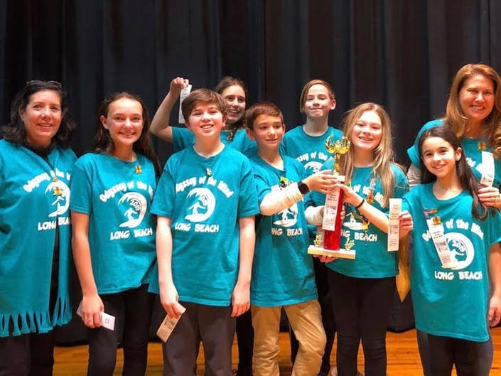 Long Beach Odyssey Of The Mind Teams Take Home Gold