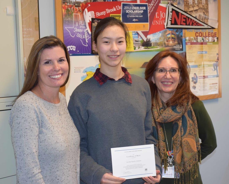 Port Jeff Student Advances to National Merit Finalist Round