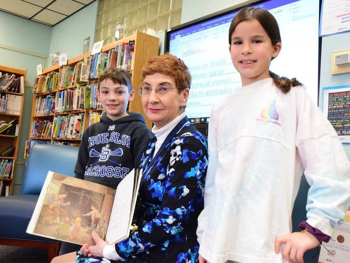 Massapequa Librarian Named Librarian Of The Year
