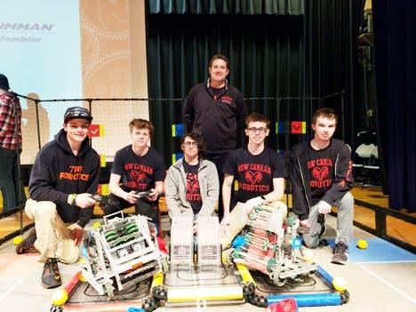 NCHS VEX Robotics Team Advances To World Championship | New Canaan