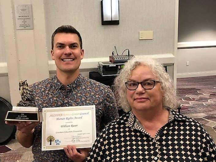 Granada High School Teacher Earns Human Rights Award