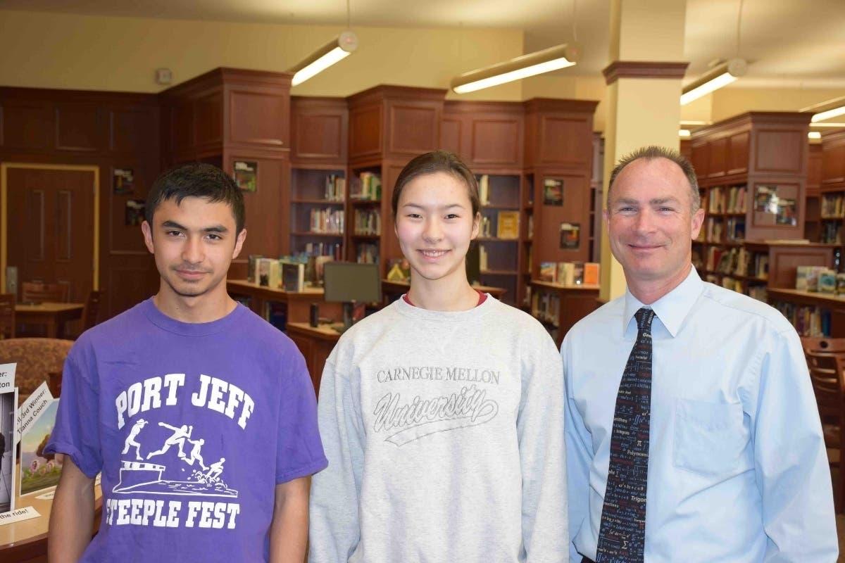 Port Jefferson Duo Score On National Math Exam | Port
