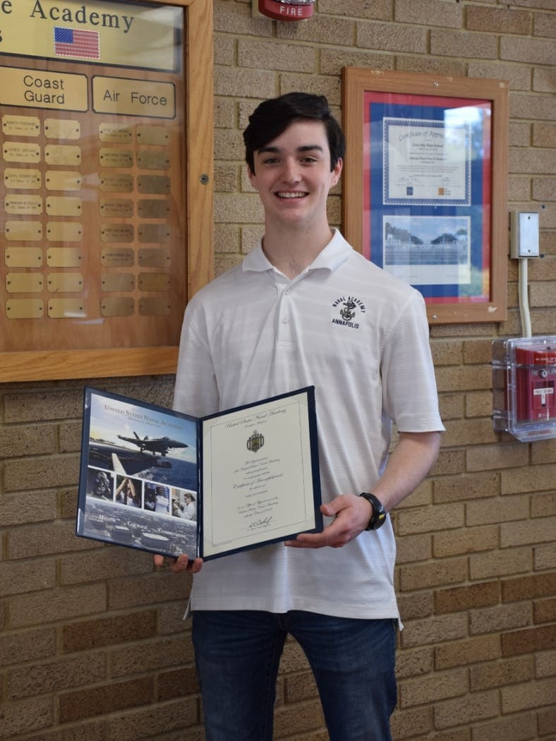 East Islip HS Senior Accepted To Naval Academy In Annapolis