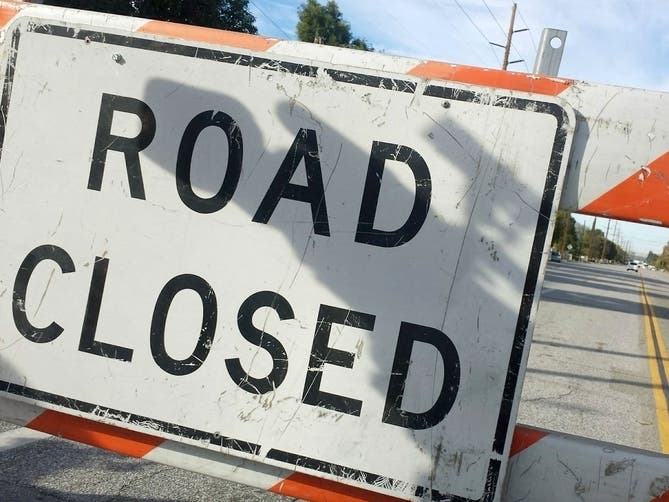 Traffic Update: Full Closure Of Raleigh Intersection This