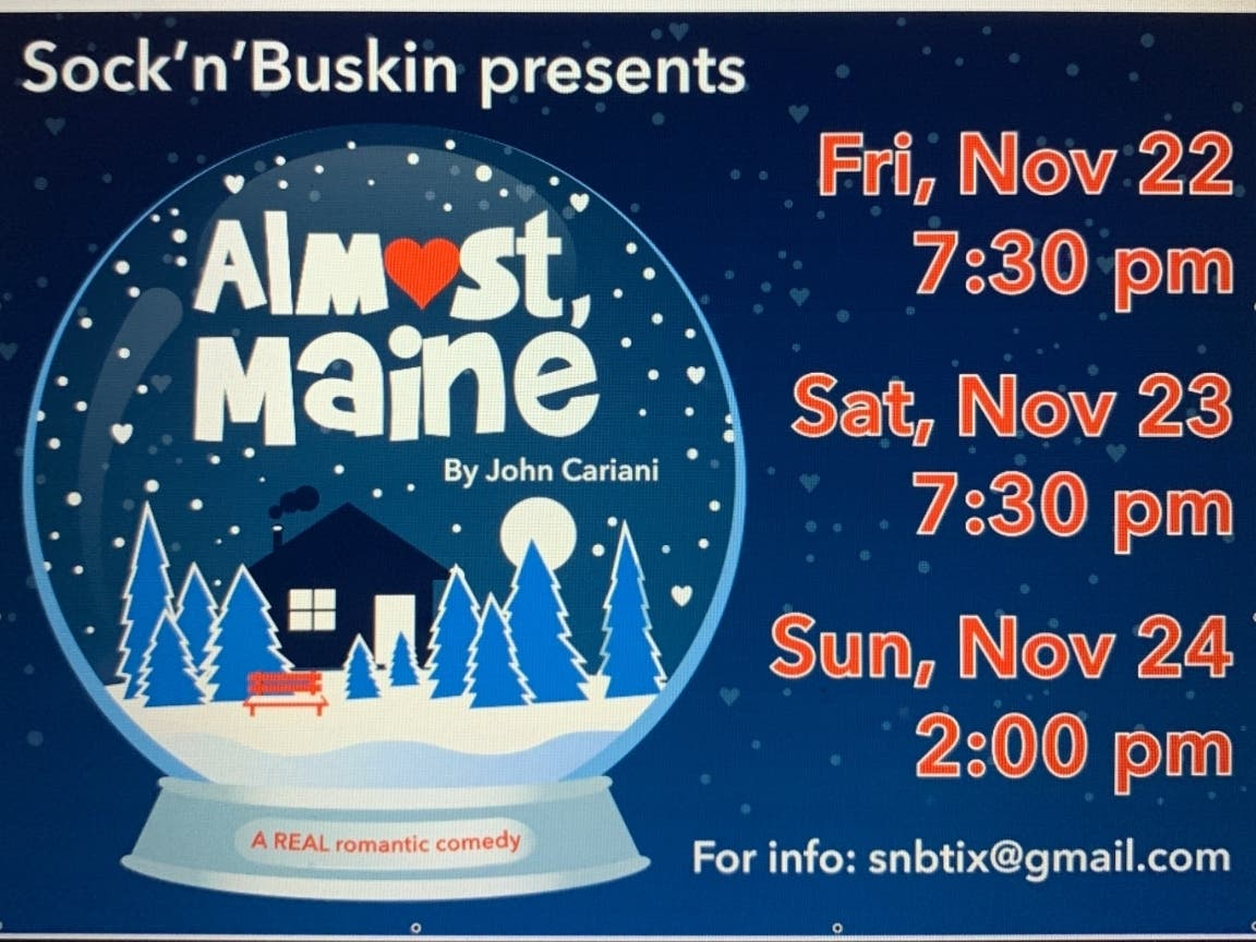 Sockn Buskin Presents Almost Maine - Patch.com