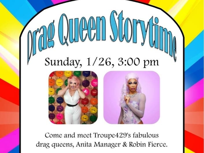 """Image result for drag queen story timenorwalk public library"""""""