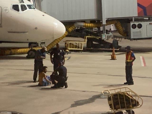 Naked man nabbed on Birmingham airport tarmac - al.com