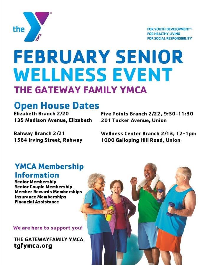 Free YMCA Senior Wellness Event Today | Clark, NJ Patch