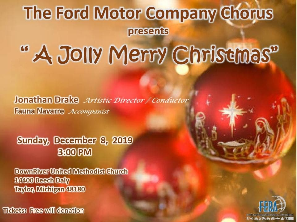 "Ford Motor Company Chorus ""A Jolly Merry Christmas"" - Patch.com"