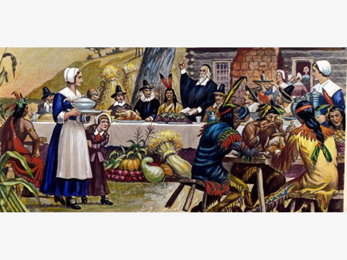 history of thanksgiving - photo #12