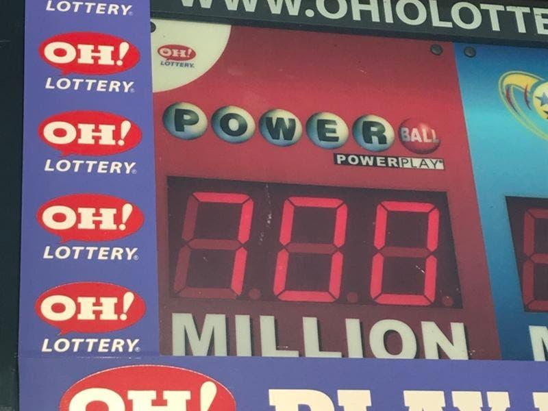 Ohio lottery powerball prizes two