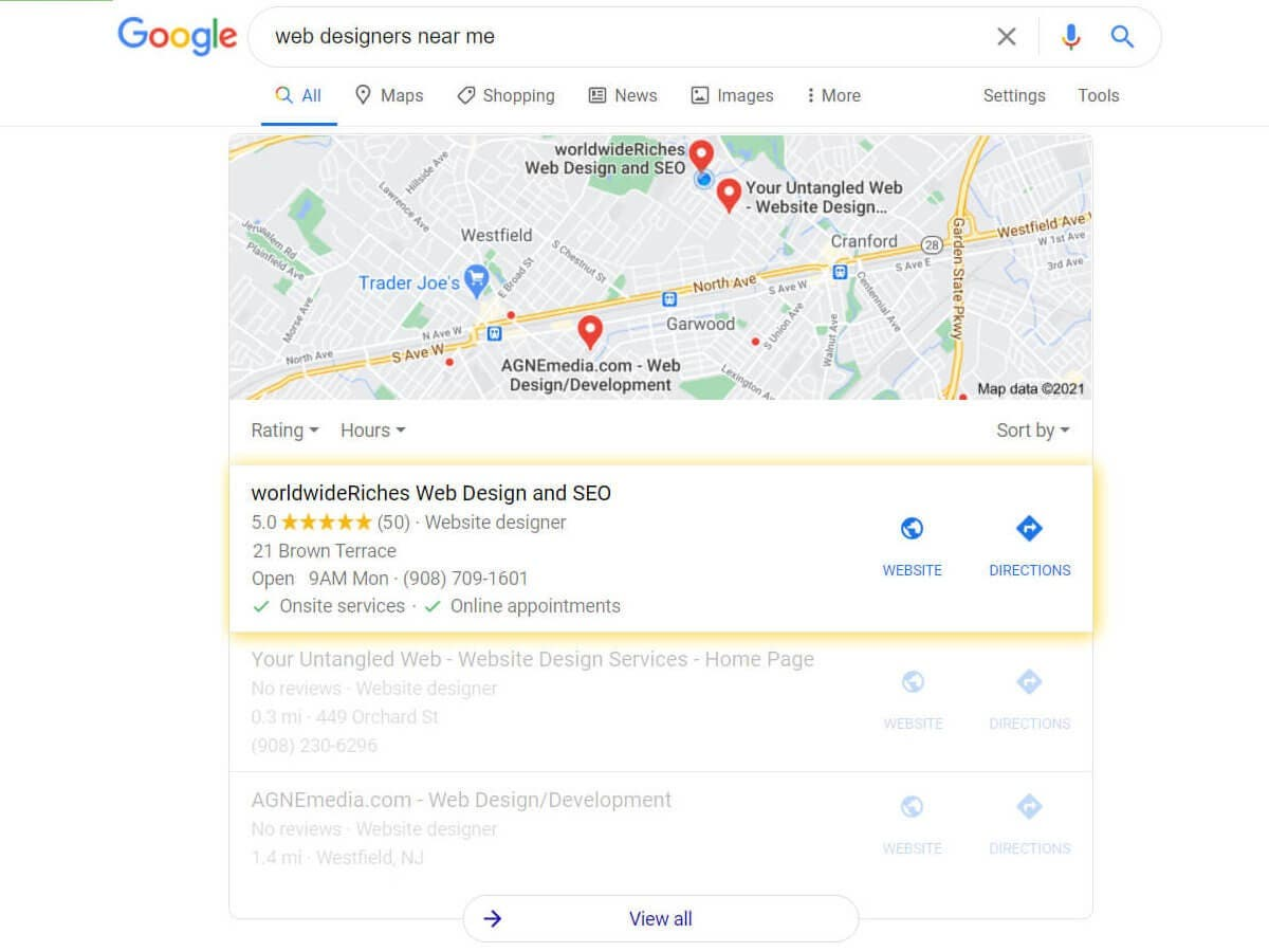 Can Your New Jersey Business Benefit from Local SEO?