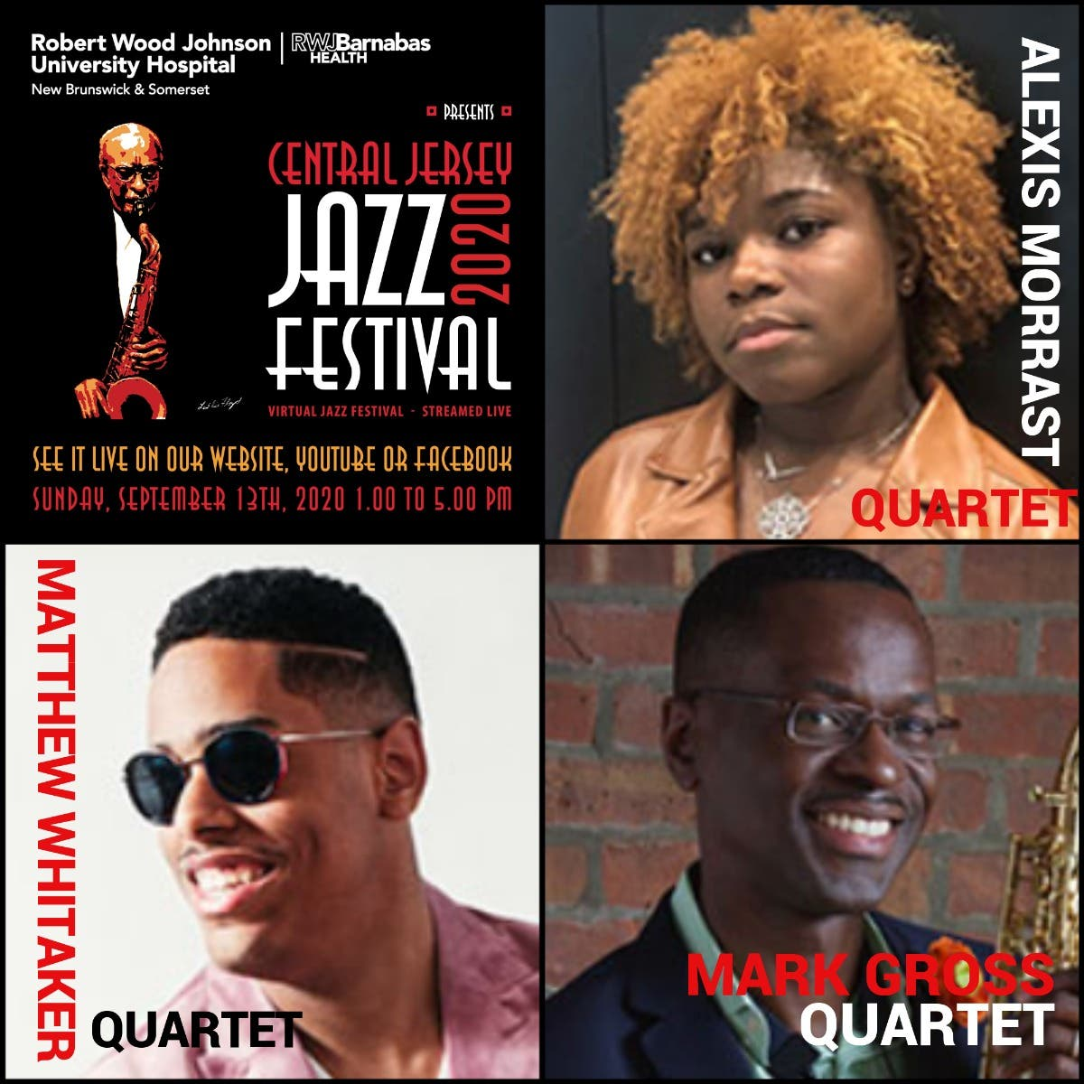 The 2020 Central Jersey Jazz Festival Goes Virtual