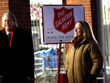 State Reps. Team Up To Collect Charitable Donations In Avon
