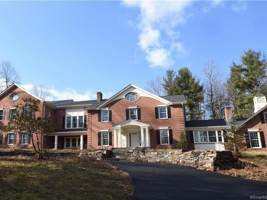 Grand Colonial Home On The Market In Avon