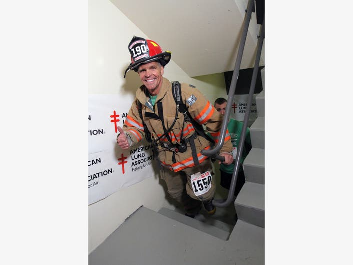 Firefighters Climb for Trophy, Raise Funds for a Personal