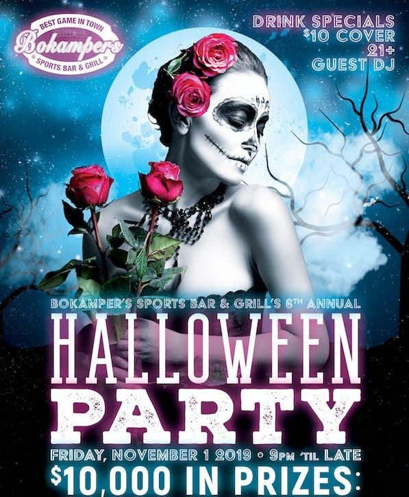 Bokampers Halloween 2020 Nov 1   Bokamper's Sports Bar & Grill Fort Lauderdale's Halloween