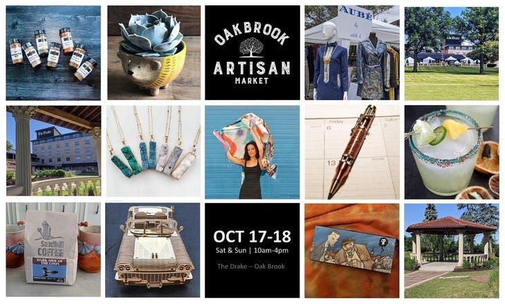 Oak Brook Artisan Market - Sat & Sun, Oct 17-18 (10am-4pm)