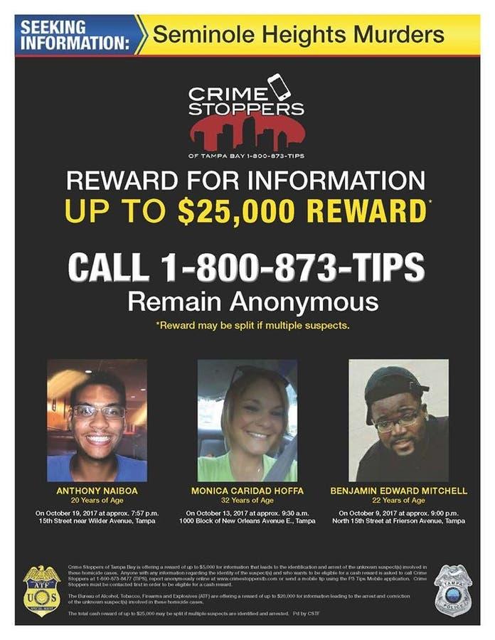 Seminole Heights Shootings: Police Chief Will Patrol On