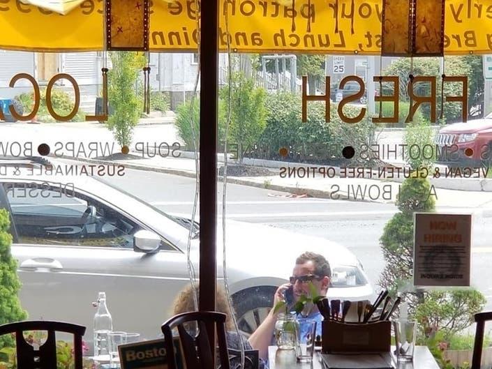 Adam Sandler, Mom Grab Vegan Brunch In Beverly